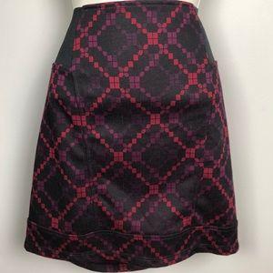 Free People Geometric Pattern Skirt